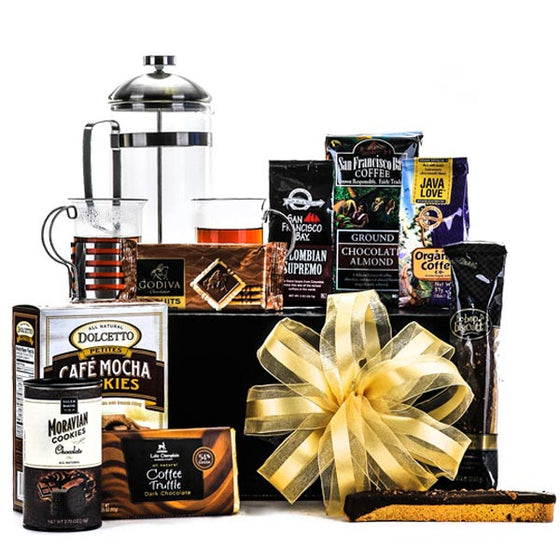 Morning Brew Deluxe Coffee Gift Basket