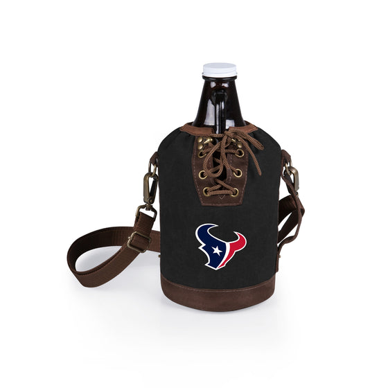 Growler with NFL Growler Tote - Houston Texans