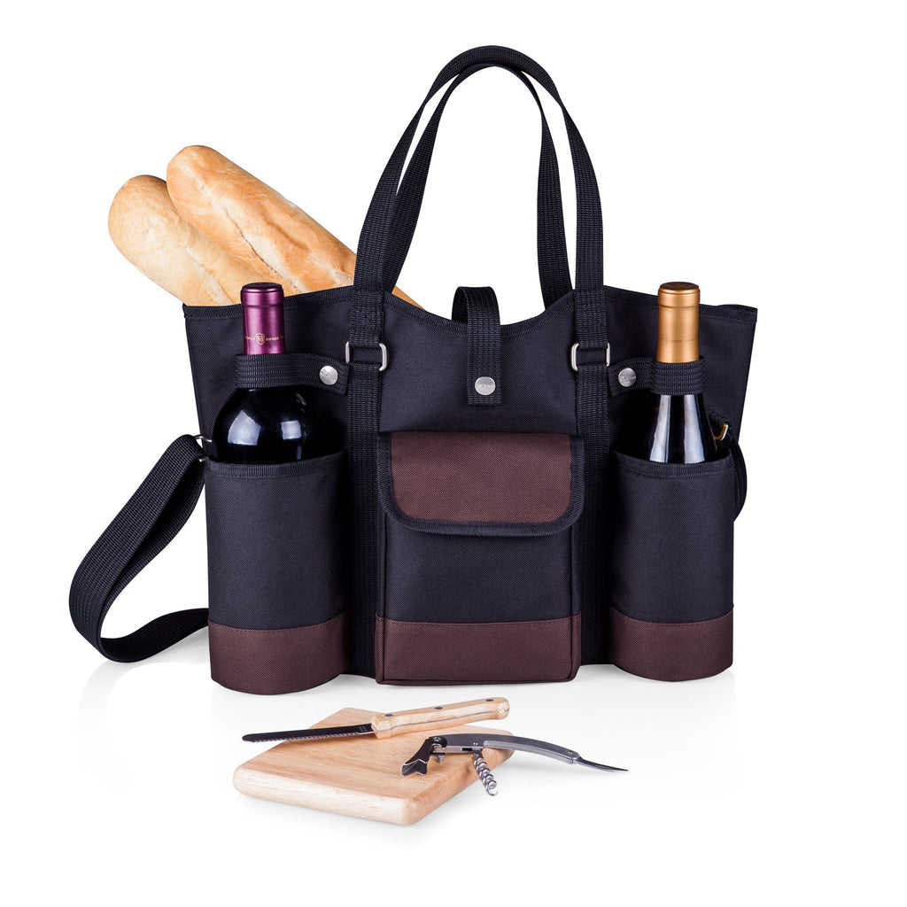 Wine Country Tote ~ Black