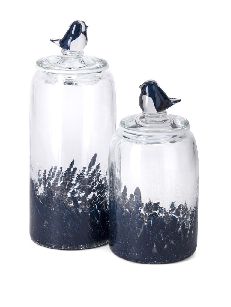 Bluebird Glass Canister Jars
