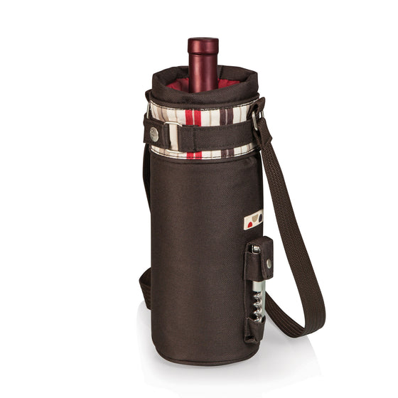 Insulated Moka Wine Sack & Corkscrew