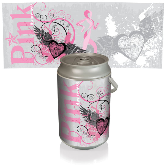 Pink Power Can Cooler