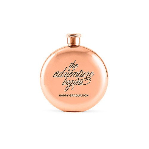 Rose Gold Flask Personalized - Gifts for Her