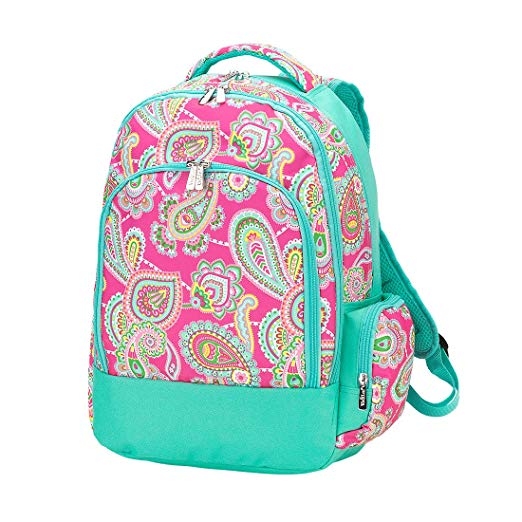 Pink Paisley Backpack
