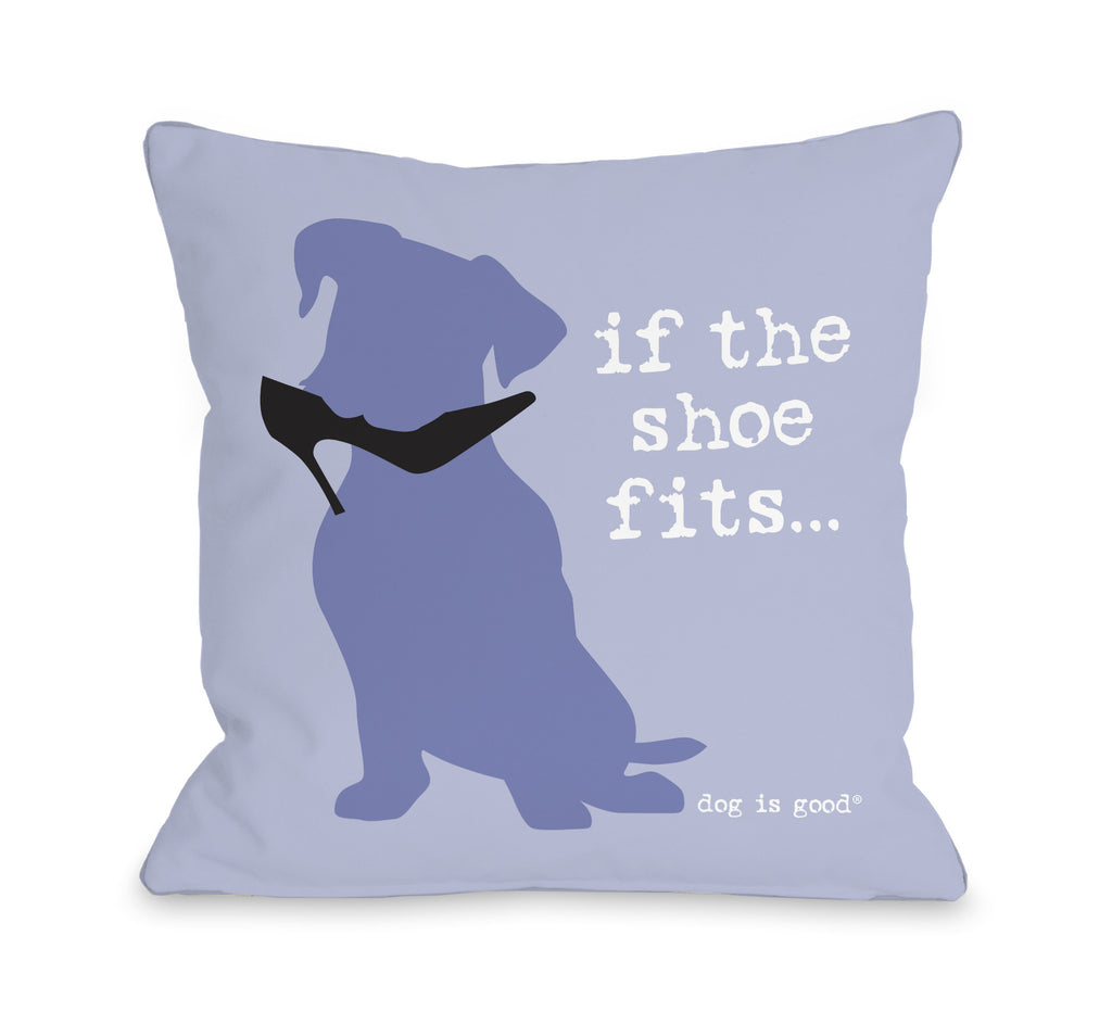 If the Shoe Fits Dog Throw Pillow - Premier Home & Gifts