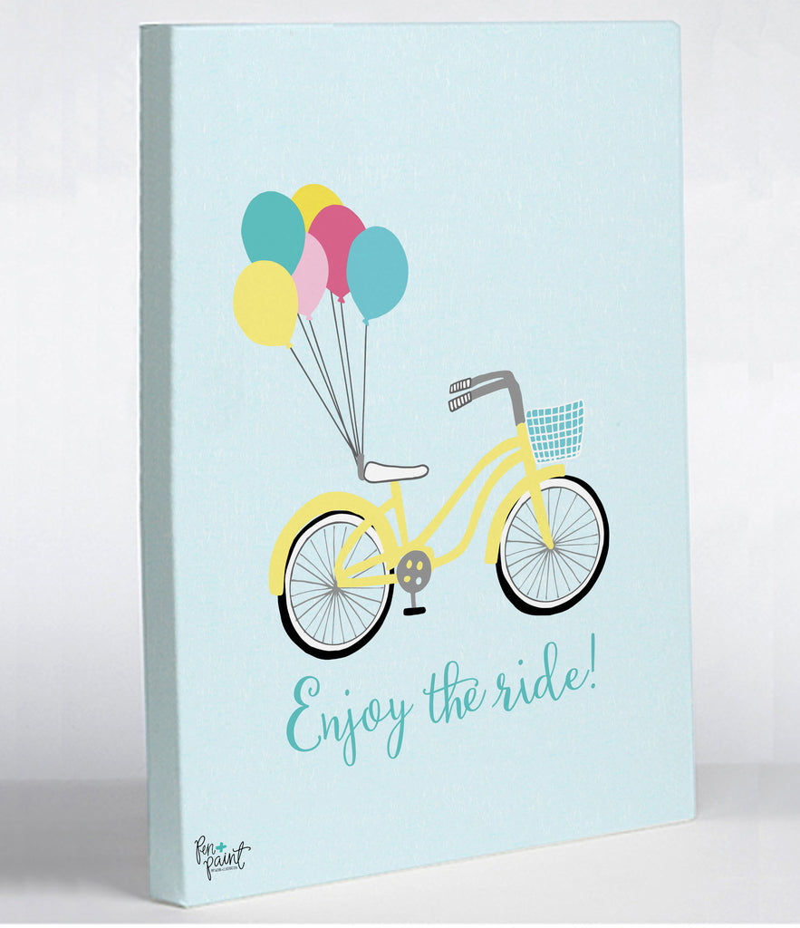 Enjoy the Ride Canvas Print - Premier Home & Gifts