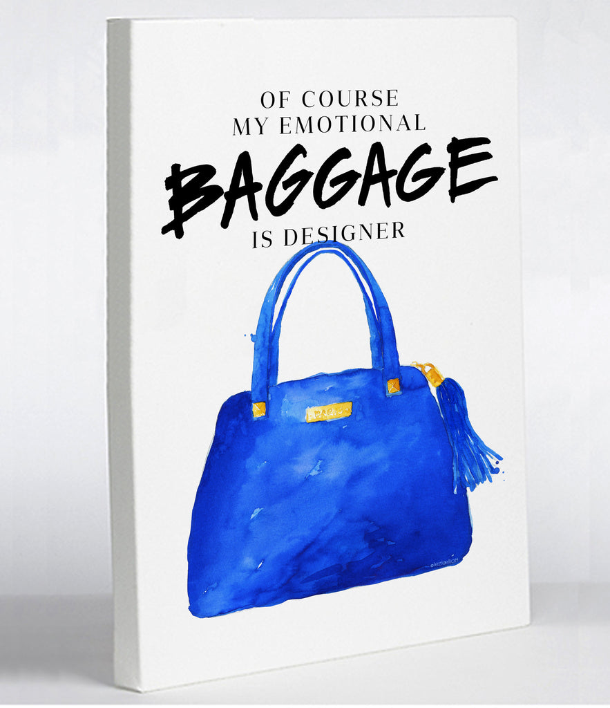 Baggage Canvas Print - Premier Home & Gifts