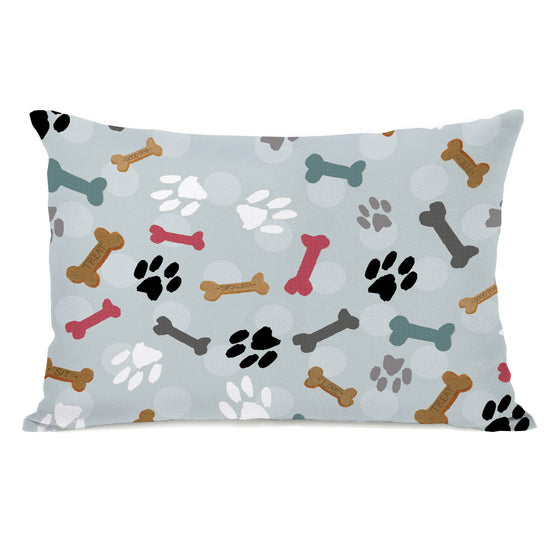 Dog's Treat Bones Throw Pillow - Premier Home & Gifts