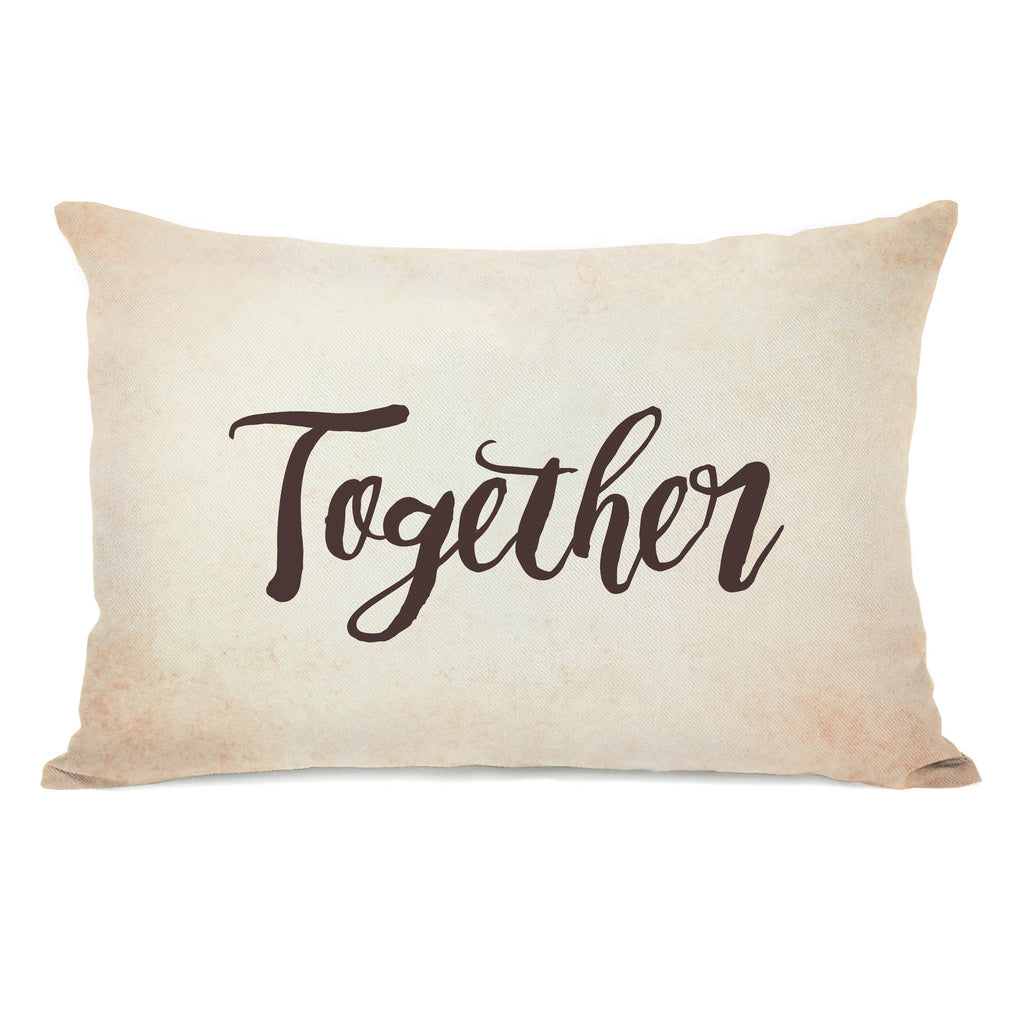 Together Lumbar Throw Pillow - Fall Decor - Premier Home & Gifts