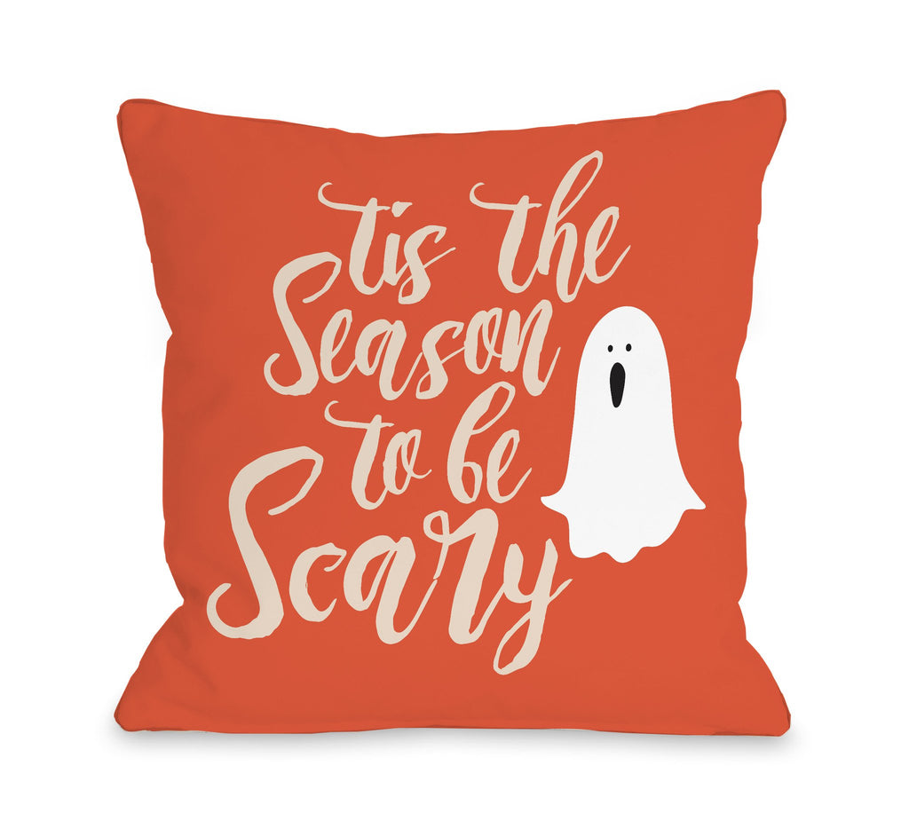 Tis the Season Scary Throw Pillow - Halloween Decor - Premier Home & Gifts