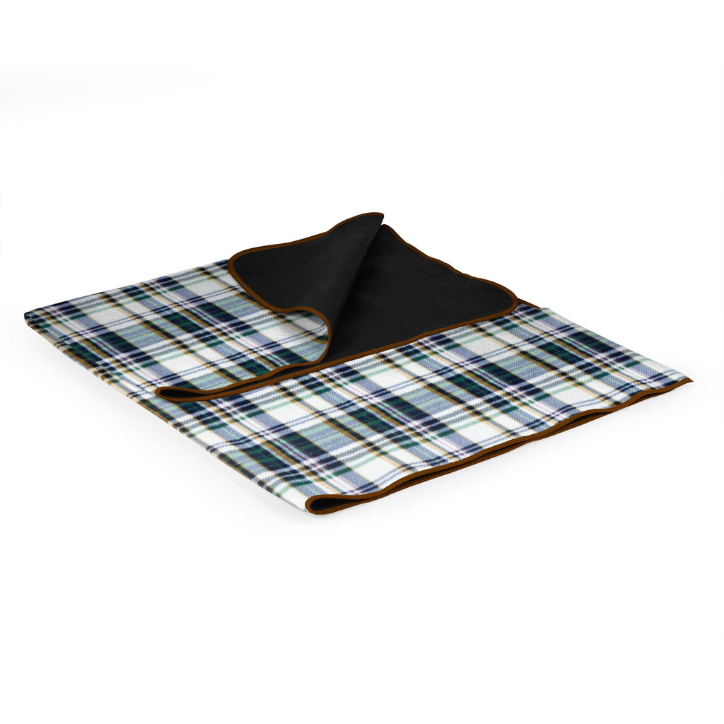 English Plaid Picnic Blanket Tote - Premier Home & Gifts