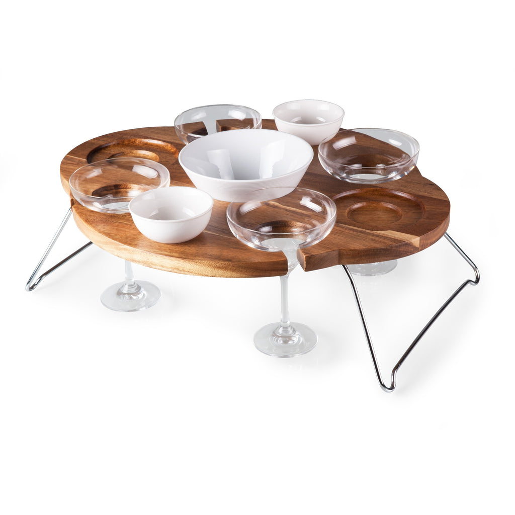 Margaritas, Chips & Salsa Serving Table