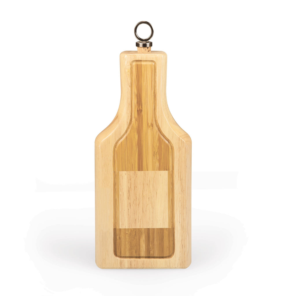 Wine Bottle Silhouette Cheese Board