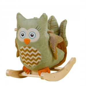 Owl Rocker - Green