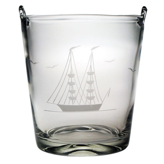 Clipper Ship Ice Bucket