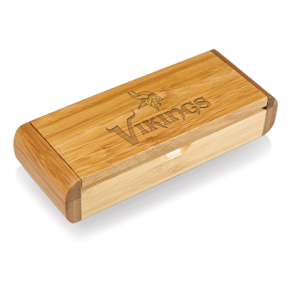Bamboo Box and Corkscrew - Minnesota Vikings