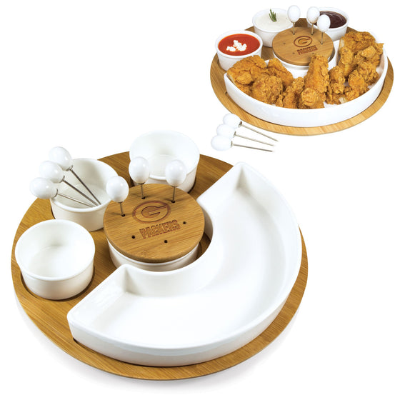 NFL Appetizer Serving Set