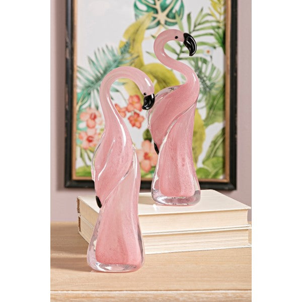 Flamingo Flamingle Glass Duo - Decorative Accessories