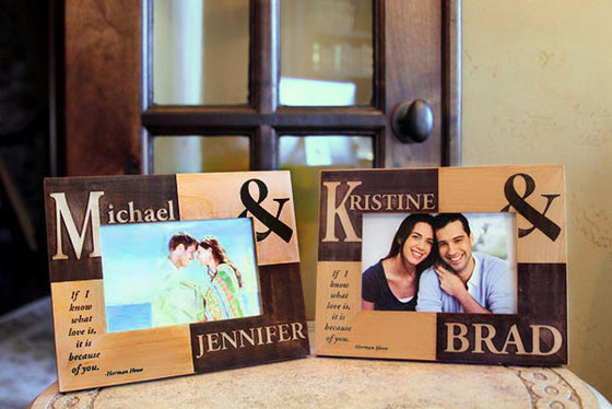 Love Photo Frame - Personalized