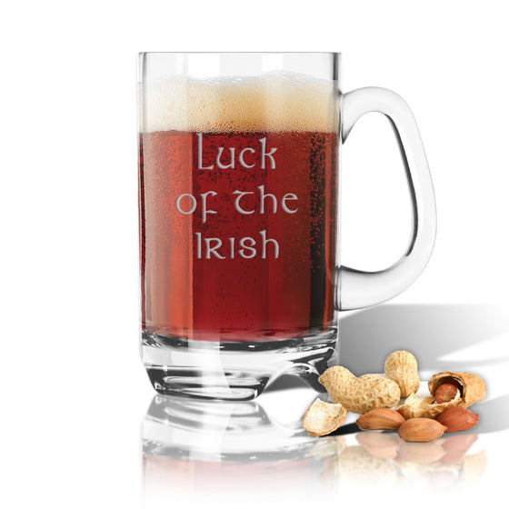 Luck of the Irish Sports Beer Mug - Barware