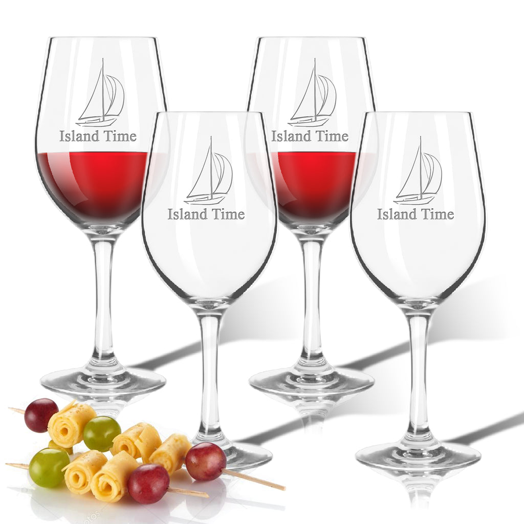 Island Time Outdoor Acrylic Wine Glasses - Premier Home & Gifts