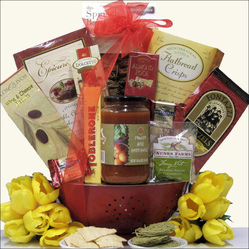 Taste of Italy Gift Basket - Premier Home & Gifts