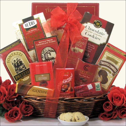 Sweet Romance Gift Basket - Premier Home & Gifts