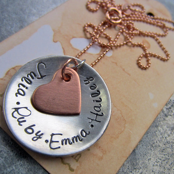 A Mother's Love Necklace