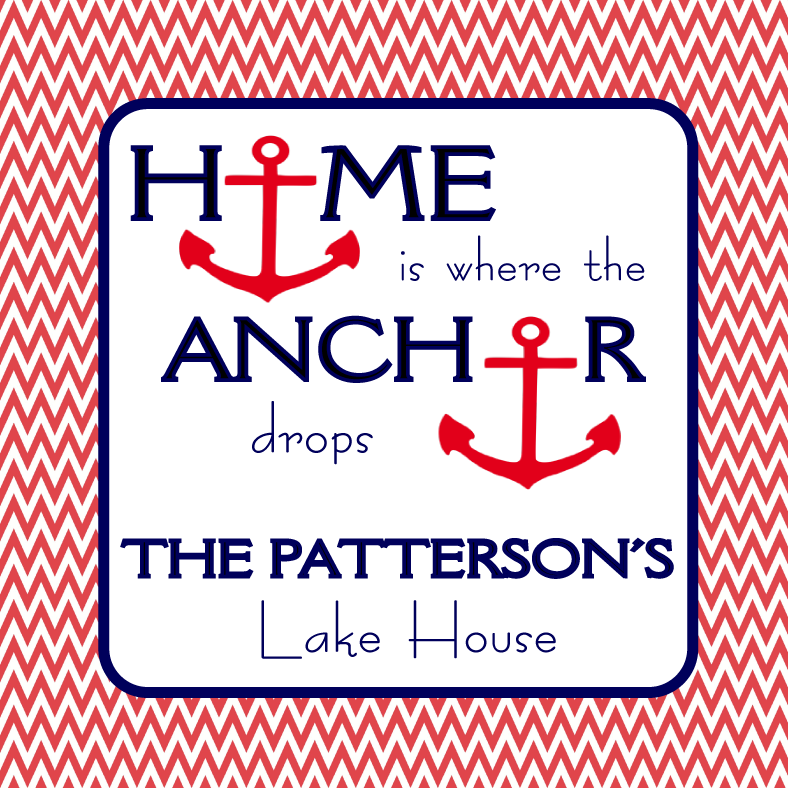 Anchor Drops Personalized Candle - Premier Home & Gifts