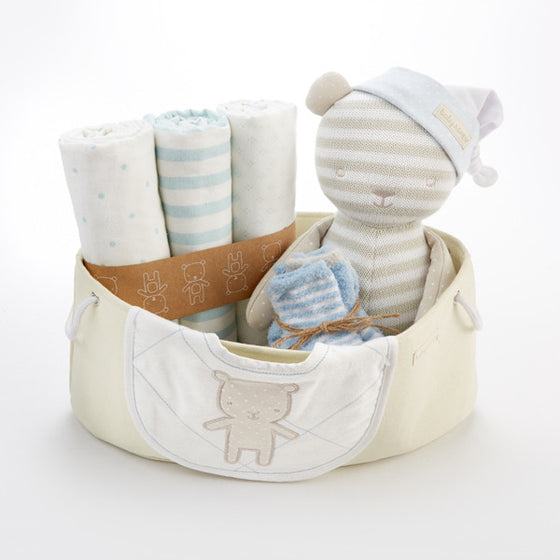 Beary Special 10 Piece Welcome Baby Gift Set - Blue