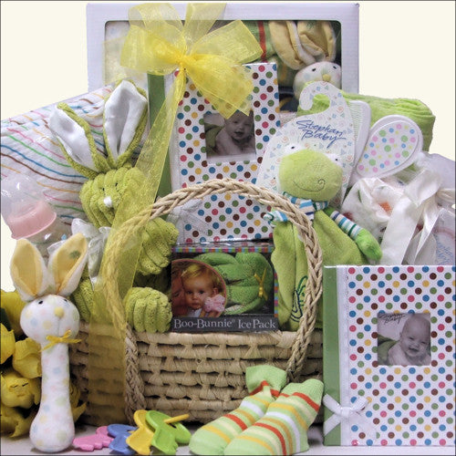 Baby Shower Surprise ~ Neutral Baby Gift Basket