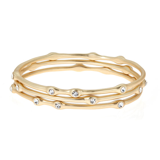 Madison Bangle Bracelet Set - Premier Home & Gifts