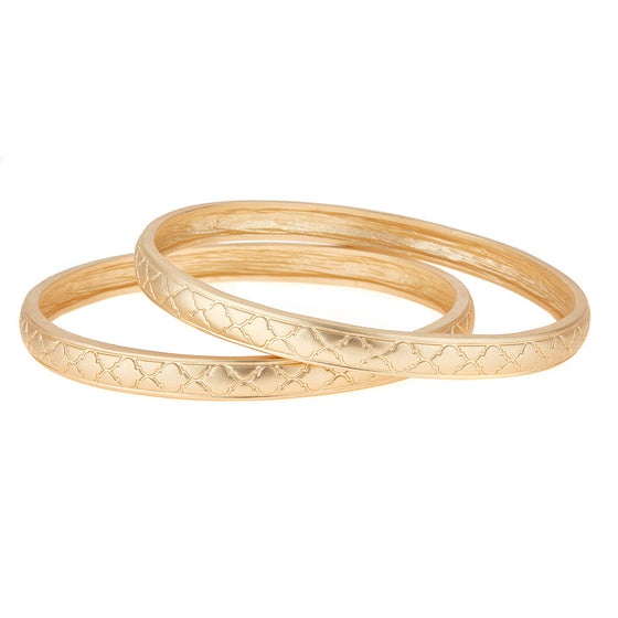 Monroe Bangle Bracelet Set - Premier Home & Gifts
