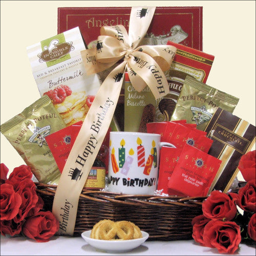 Rise & Shine Happy Birthday Gift Basket - Premier Home & Gifts