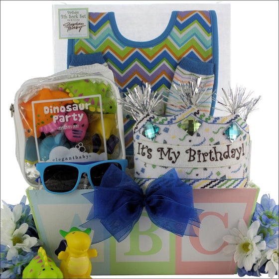 Baby's 1st Birthday Gift Basket - Boy | Premier Home & Gifts