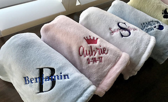 Minky Lux Baby Blankets - Personalized | Premier Home & Gifts