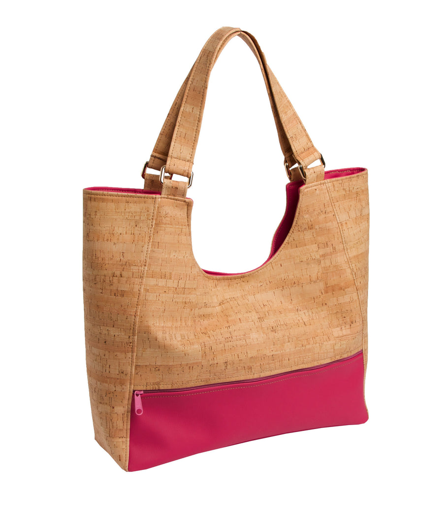 Bold Cork Shoulder Bag - Premier Home & Gifts