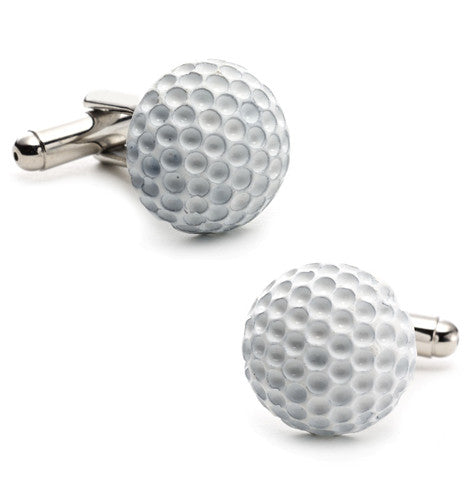 Golf Ball Cufflinks - Premier Home & Gifts