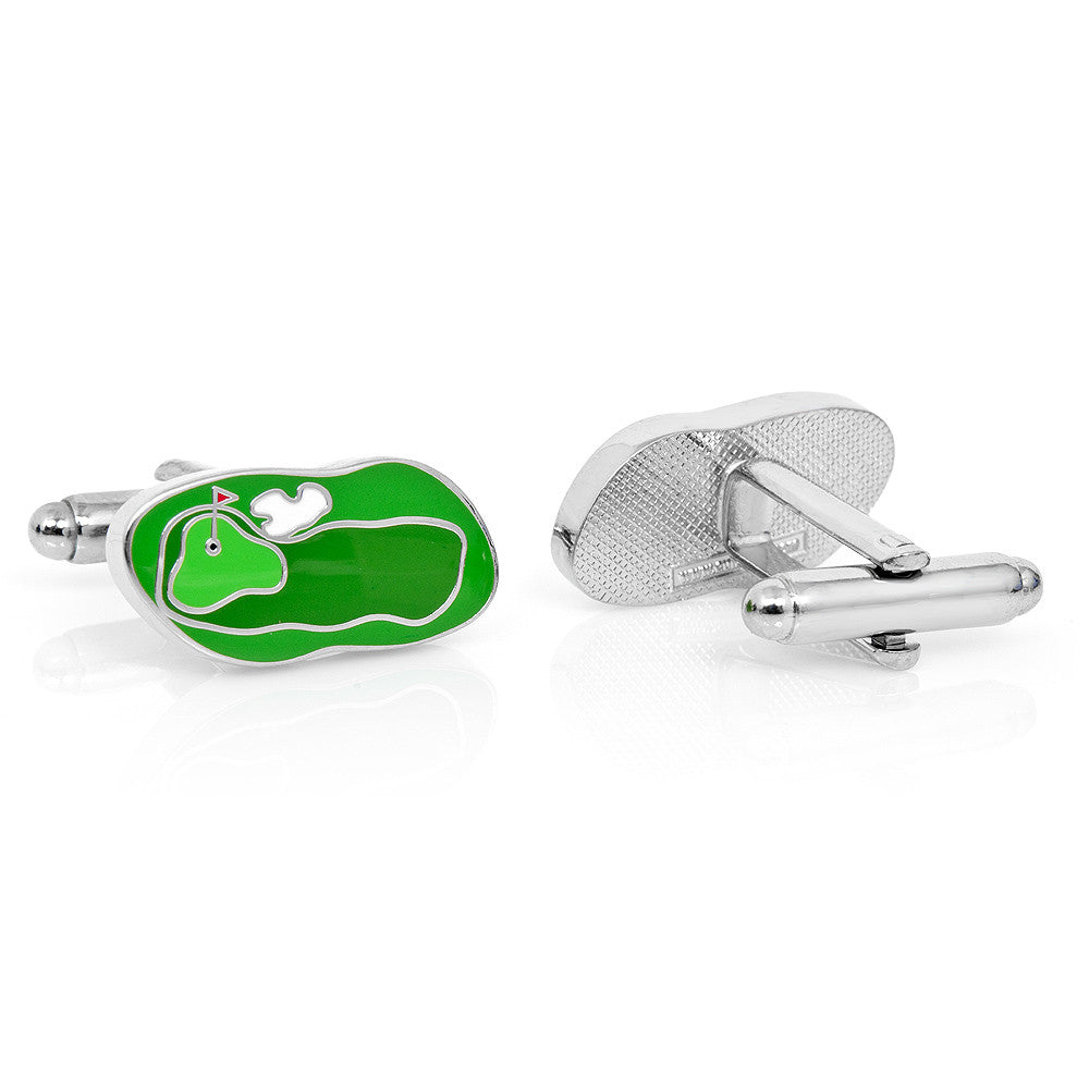 Golf Course Cufflinks - Premier Home & Gifts