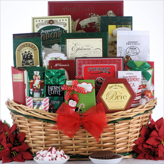 Tis the Season Gourmet Holiday Gift Basket - Large