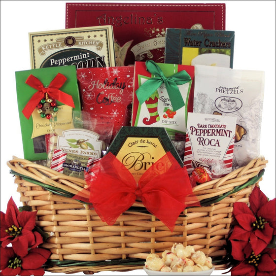 Tis the Season Gourmet Holiday Gift Basket - Premier Home & Gifts