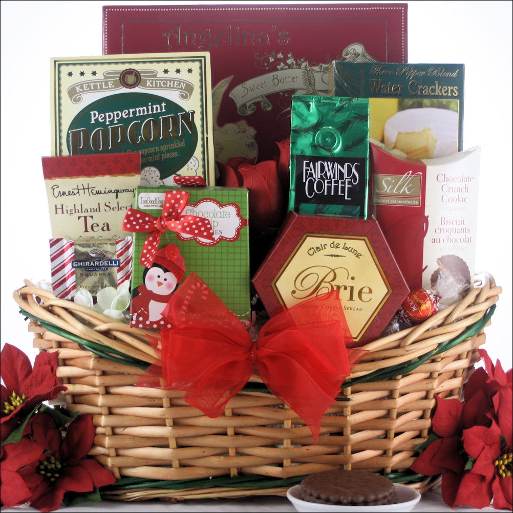Tis the Season Gourmet Holiday Gift Basket - Small