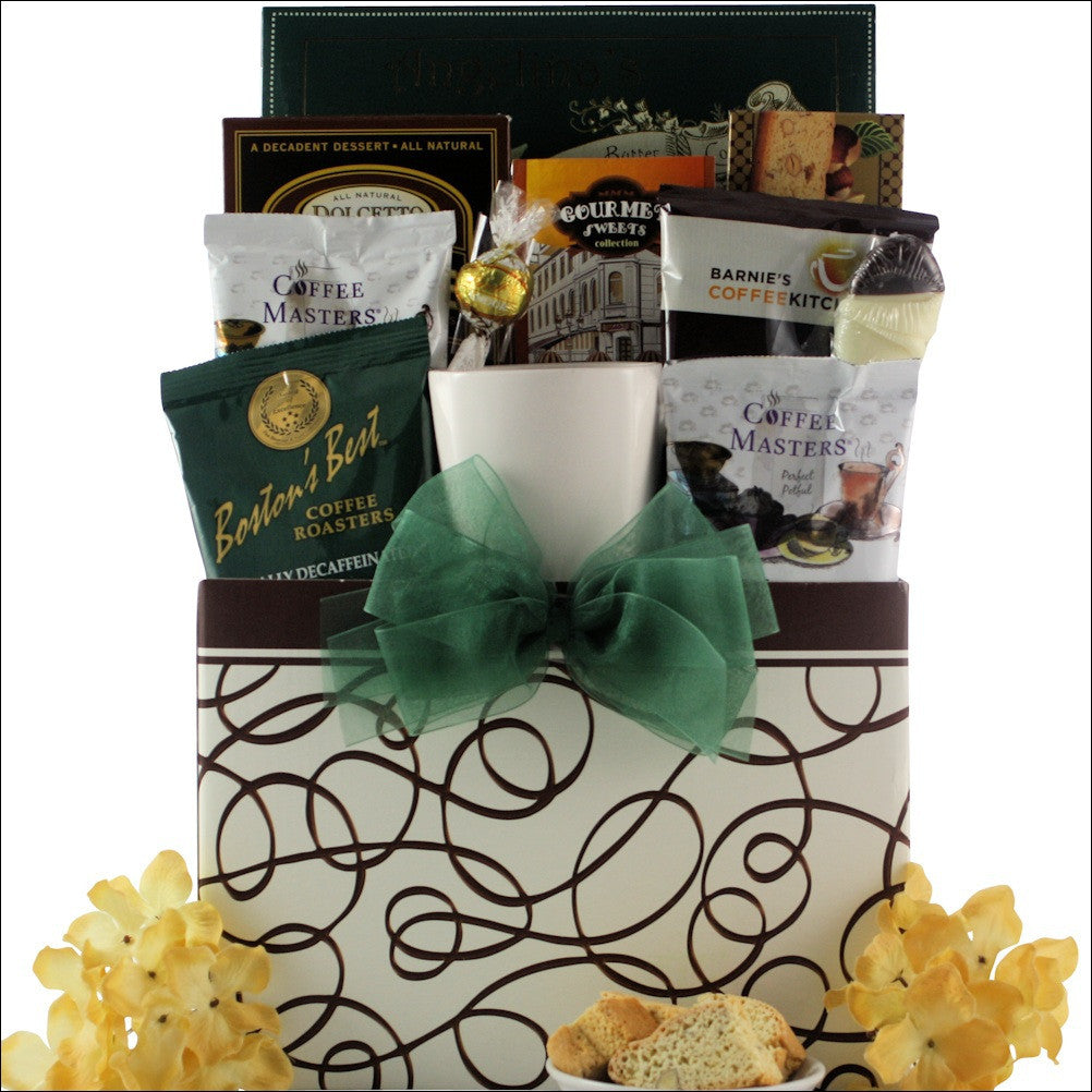 Java Express Gourmet Coffee Gift Basket - Premier Home & Gifts