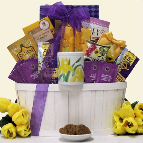 Zen Blend Gourmet Coffee & Tea Gift Basket