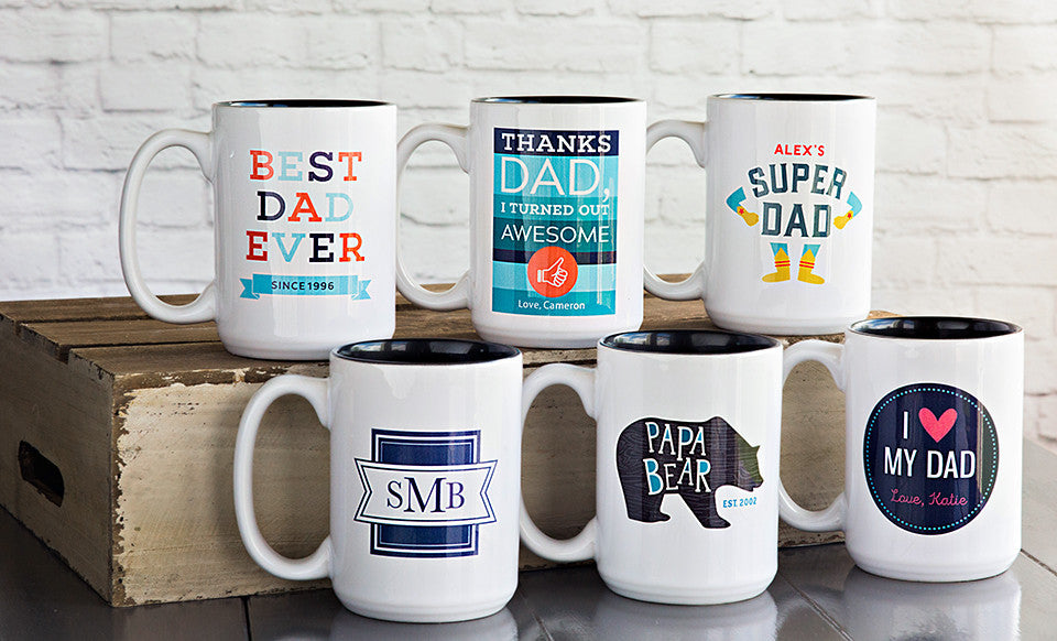 Personalized Father's Day Mugs - Premier Home & Gifts