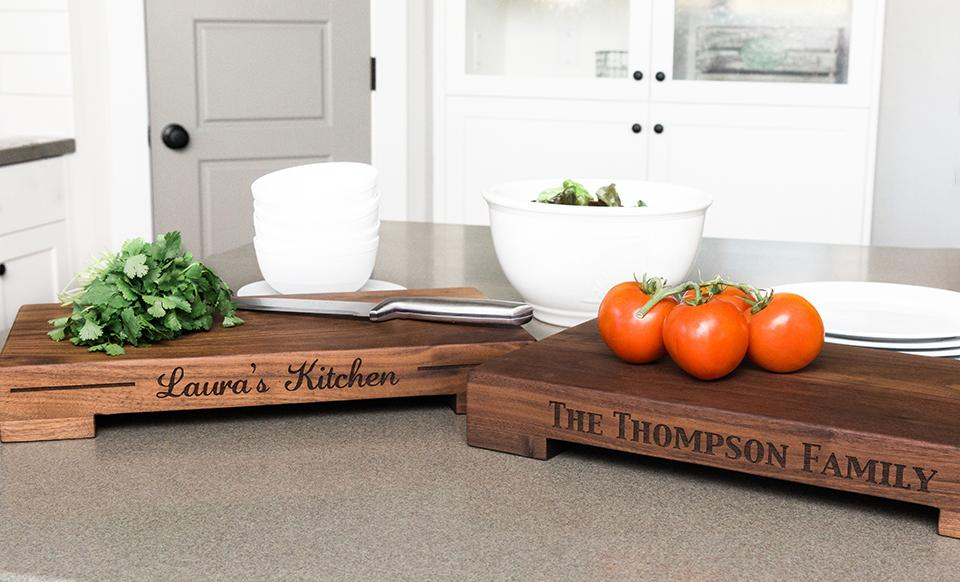 Butcher Blocks - Personalized - Kitchen Gifts