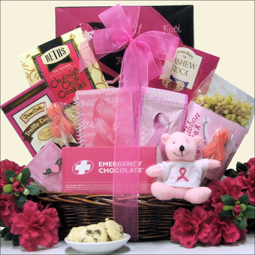 Hope Breast Cancer Gift Basket