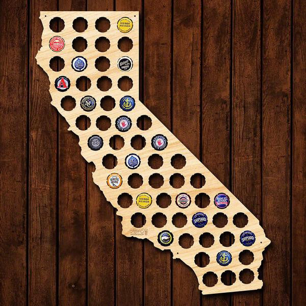 California Beer Cap Sign - Premier Home & Gifts