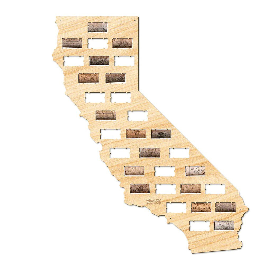 California Wine Cork Sign - Premier Home & Gifts