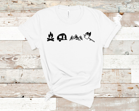 Camp Icons T-Shirt